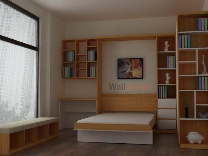 các mẫu giường ngủ thông minh
