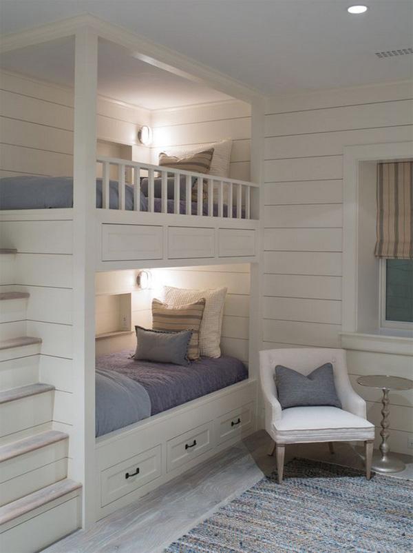 7.Những mẫu giường tầng đáng yêu dành cho bé.