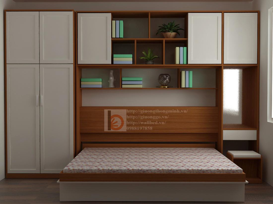 mẫu giường ngủ thông minh