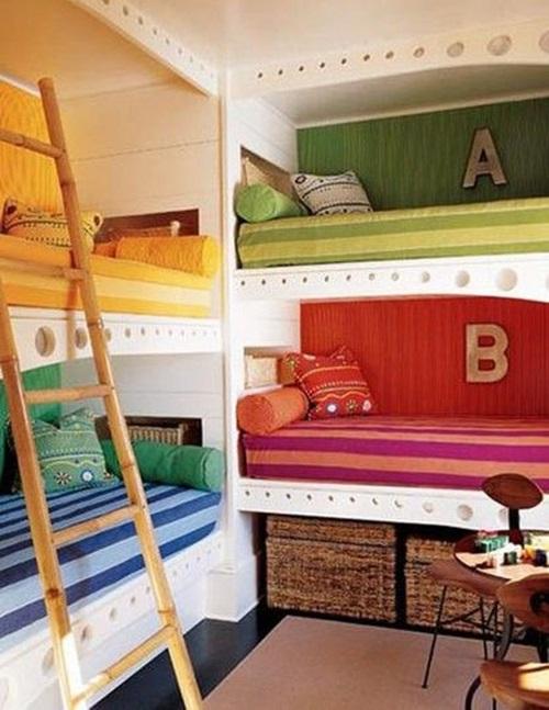 2. Gợi ý 5 mẫu giường tầng thông minh