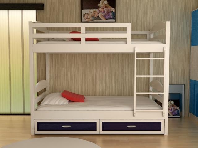 giường tầng thông minh đẹp