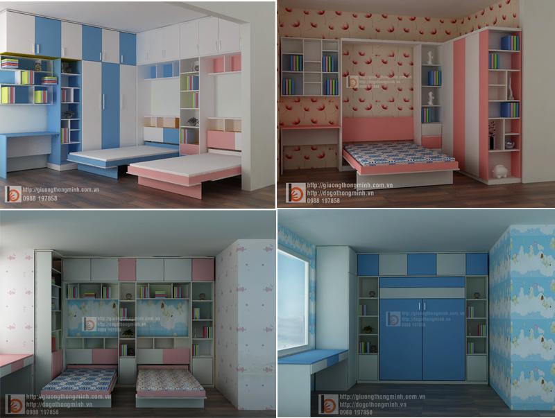 5 Mẫu Phòng Ngủ 6-8m2 Đủ Đồ Mà Vẫn Rộng Rãi Cho Bé Vui Chơi