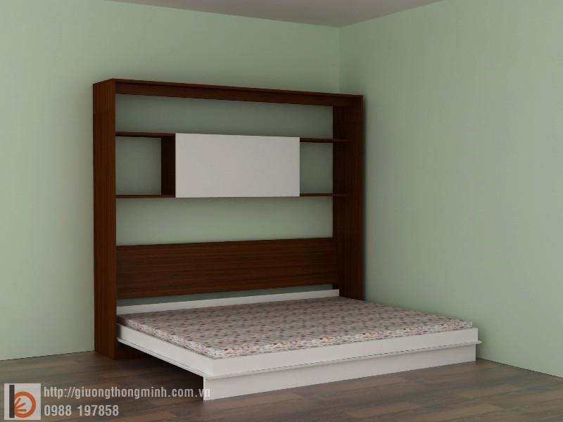 giường thong minh ngang