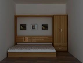 Giường thông minh kết hợp tủ quần áo WBT31